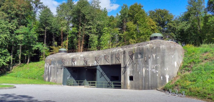 La ligne Maginot : le fort du Schoenenbourg © Thilo Parg - licence [CC BY 3.0] from Wikimedia Commons