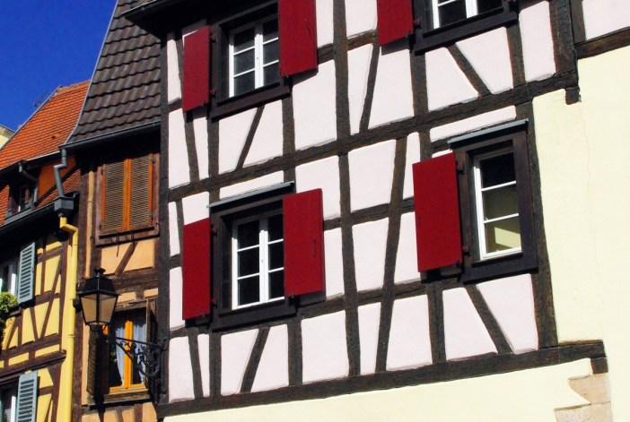 Colombages d'une maison à Colmar © French Moments