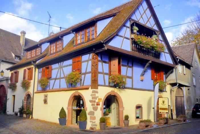 Maison vigneronne à Kientzheim © French Moments