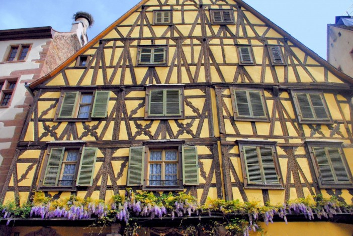 Maison alsacienne à Riquewihr © French Moments