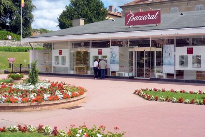 Boutique de la cristallerie à Baccarat © French Moments
