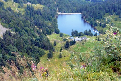 Lac des Truites vu du Gazon du Faing © French Moments