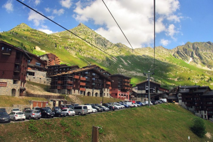 Télécabine Belle Plagne © French Moments