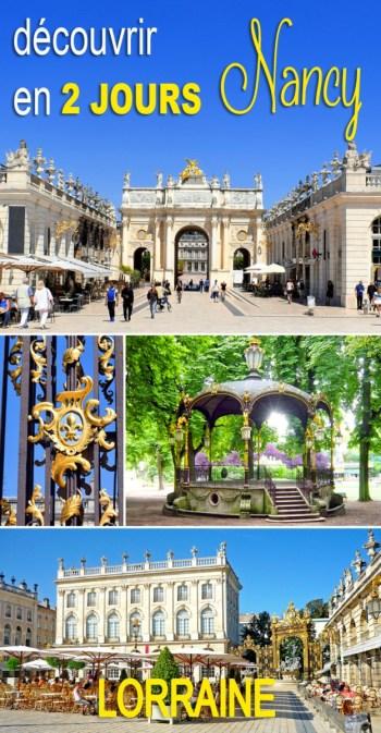 Découvrir Nancy en 2 jours le temps d'un weekend © French Moments
