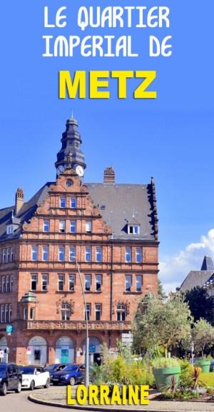 Découvrez le Quartier Impérial allemand de Metz © French Moments