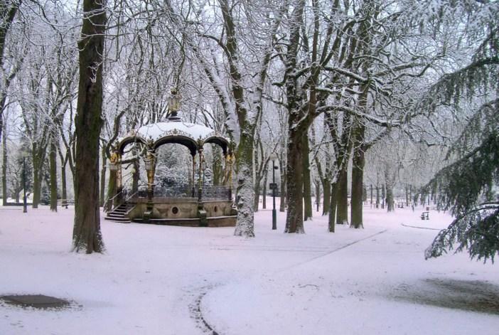 Parc de la Pépinière en hiver © French Moments