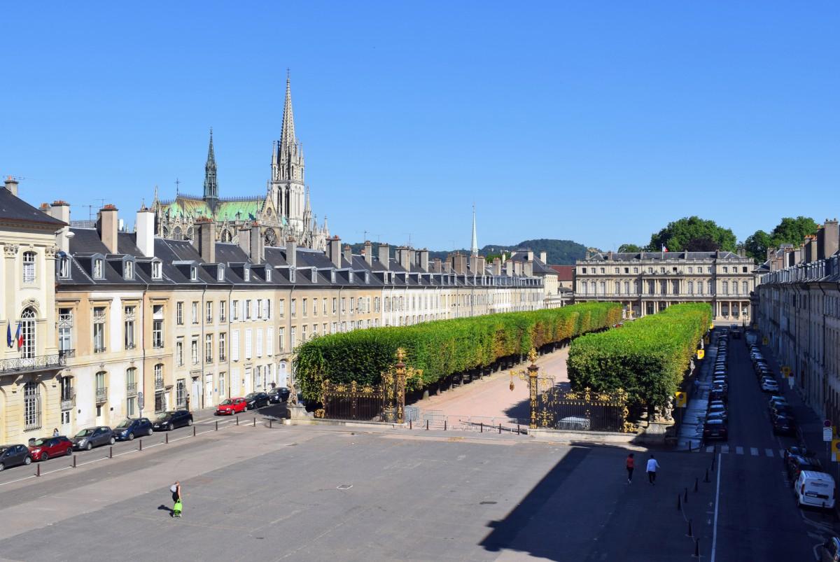 Découvrir la place de la Carrière à Nancy - Mon Grand Est