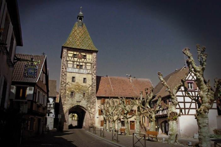 Bergheim : la Porte Haute © French Moments