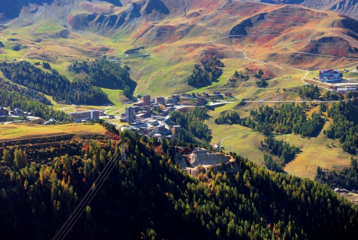 La Plagne-Centre vu du mont Saint-Jacques © French Moments