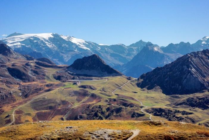 Le domaine de La Plagne et le massif de la Vanoise © French Moments