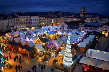 Le marché de Saint-Nicolas à Nancy © French Moments