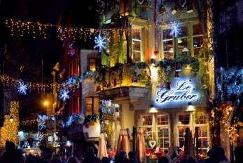 La rue du Maroquin toute illuminée pour Noël, Strasbourg © French Moments