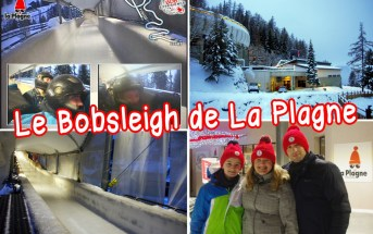La piste olympique de bobsleigh de La Plagne © French Moments