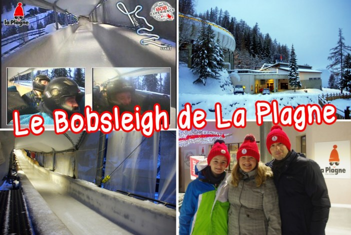 La piste olympique de bobsleigh de La Plagne © French Moments