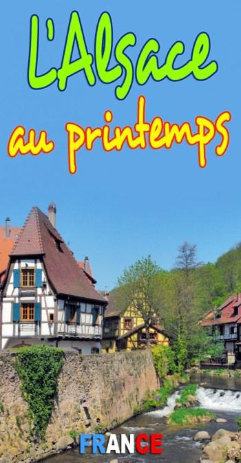 Découvrez le Printemps en Alsace © French Moments