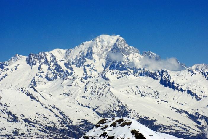 Mont Blanc vu de La Grande Rochette, La Plagne © French Moments