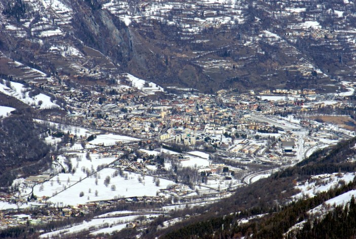 Bourg-Saint-Maurice depuis la Roche de Mio © French Moments