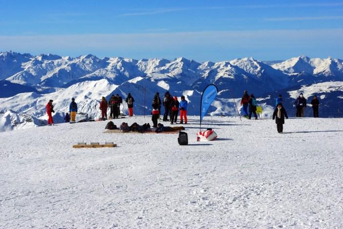 Sur le glacier de la Chiaupe (Bellecôte) © French Moments