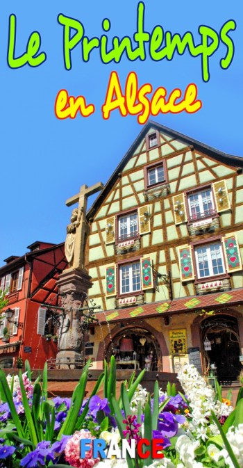 Découvrez l'Alsace au printemps © French Moments