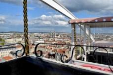 Au sommet de la grande roue, Foire attractive de Nancy © French Moments