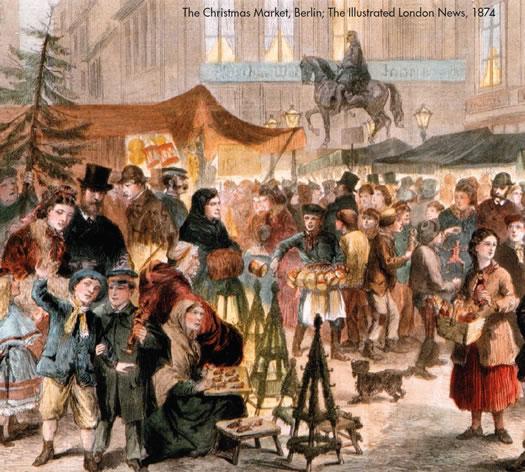 Des Lichtergestelle (Pyramides de Berlin) au marché de Noël
