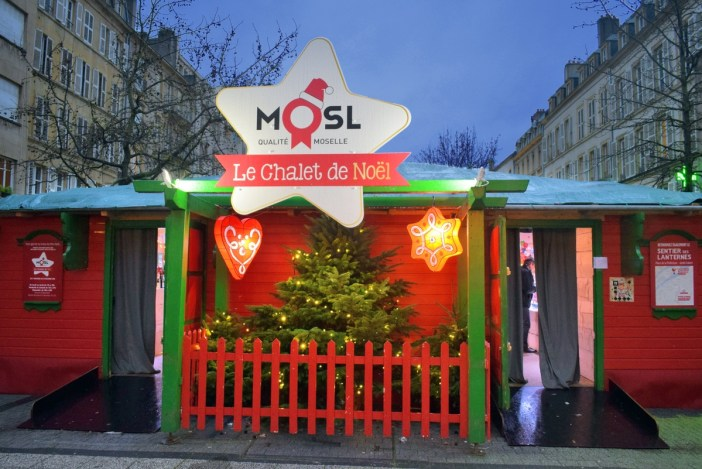 Chalet de Noël de Metz (place Saint-Jacques) © French Moments