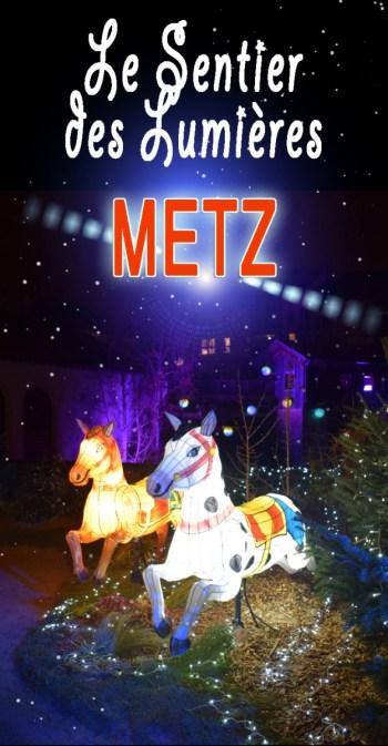 Le Sentier des Lanternes de Metz © French Moments