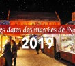 Dates des marchés de Noël 2019 © French Moments