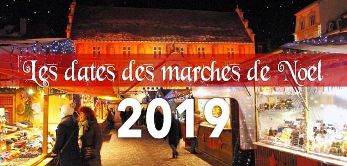 Dates des marchés de Noël 2019 © French Moments