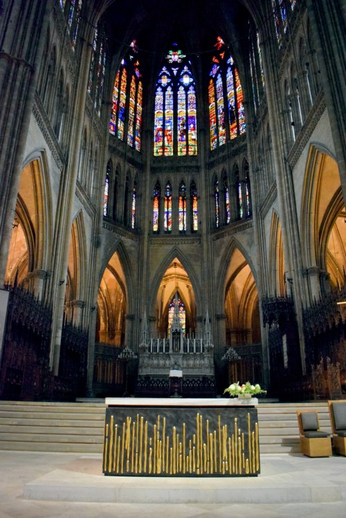 Le chœur de la cathédrale de Metz © French Moments