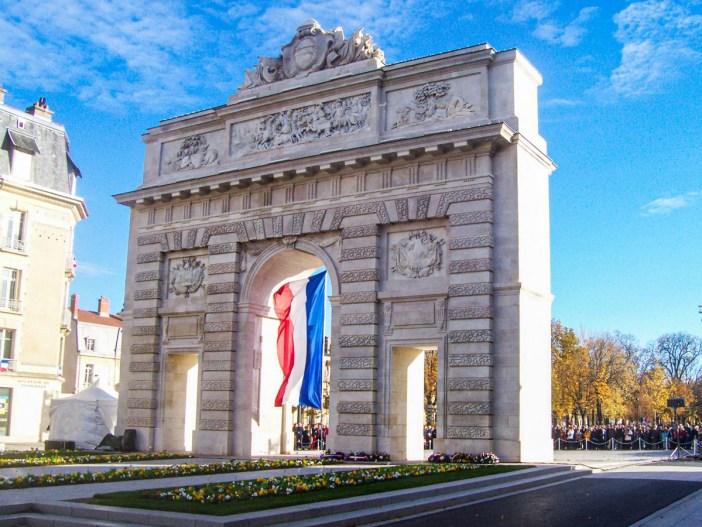 La porte Désilles à Nancy (côté Campagne) © French Moments