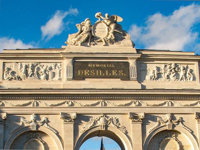 La porte Désilles à Nancy (côté Ville) © French Moments