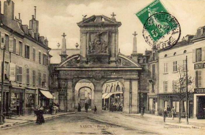 La Porte Saint-Nicolas au début du 20e siècle