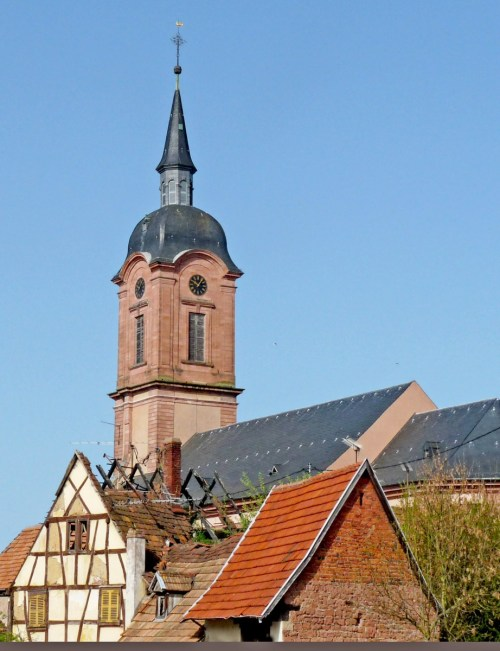 L'église Saint-Michel de Reichshoffen © Ji-Elle - licence [CC BY-SA 3.0] from Wikimedia Commons