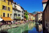 Pont de l'Evêché, Annecy © French Moments