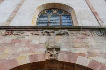 La frise de l'église d'Andlau © French Moments