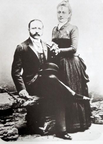 César Ritz et Marie-Louise Beck en 1888