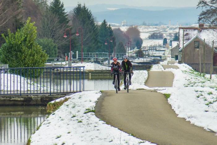 Une des plus belles pistes cyclables d'Alsace : au seuil de Valdieu © French Moments