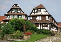 Dans le village d'Hunspach © Jean-Pierre Dalbéra - licence [CC BY 2.0] from Wikimedia Commons