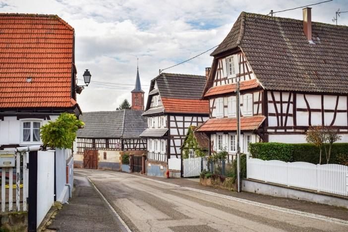 Vue générale de Hunspach en Alsace © French Moments