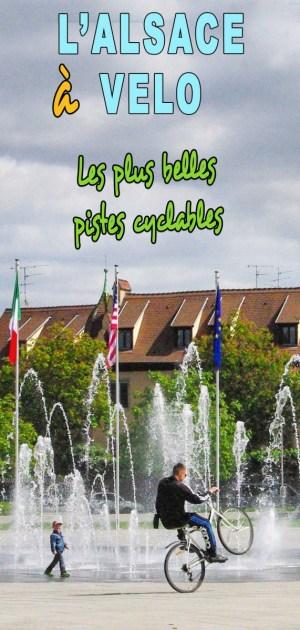 Découvrez les plus belles pistes cyclables d'Alsace © French Moments