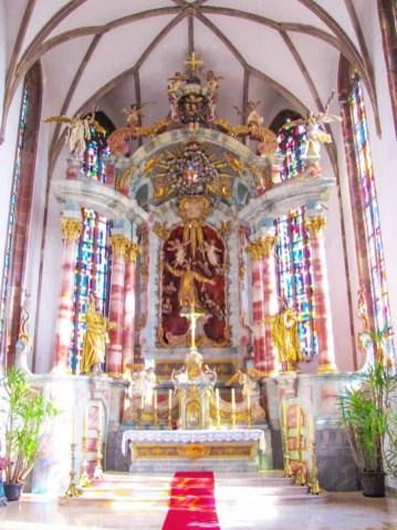 Le chœur de l'église Saint-Etienne de Seltz © Ralph Hammann - licence [CC BY-SA 4.0] from Wikimedia Commons