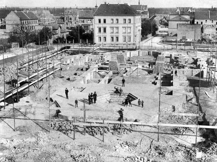 Les fondations de la Gedächtniskirche © http://www.gedaechtniskirche.de/