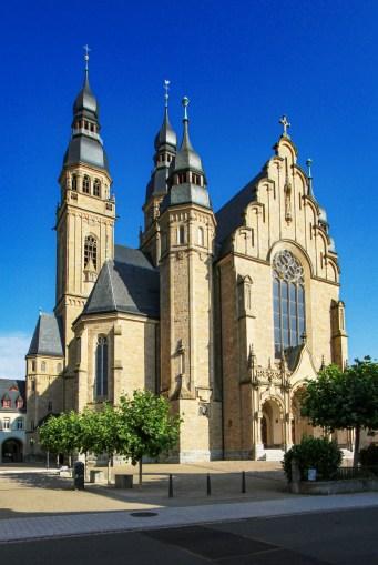 La Josephskirche à Spire © Gerd Eichmann - licence [CC BY-SA 4.0] from Wikimedia Commons