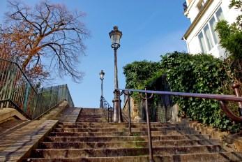 Les escaliers de Montmartre © French Moments