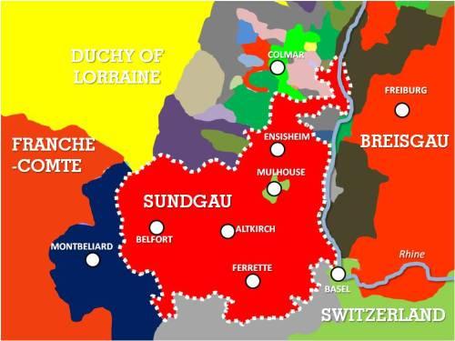 Sundgau Carte Histoire © French Moments