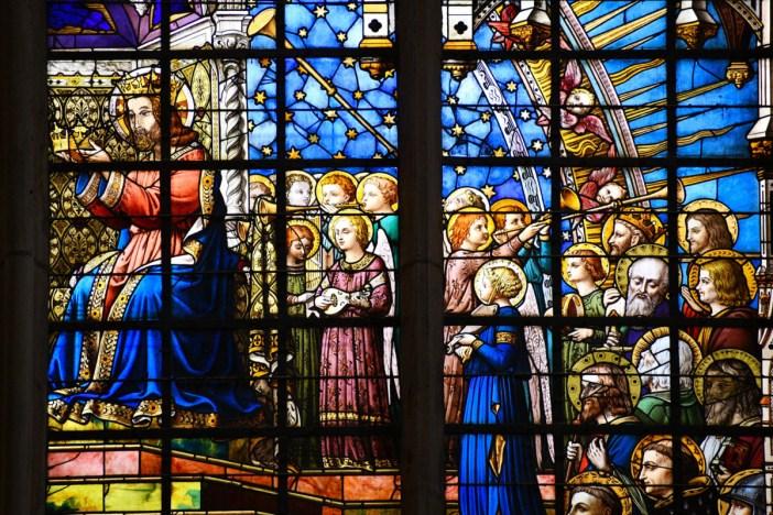 Vitraux de Metz - église Saint-Vincent à Metz © French Moments