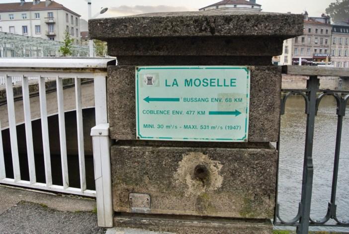 La Moselle à Epinal © French Moments
