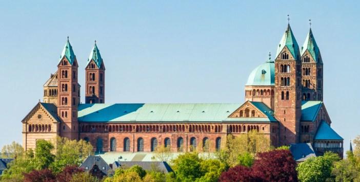 La cathédrale de Spire © Friedrich Haag - licence [CC BY-SA 4.0] from Wikimedia Commons