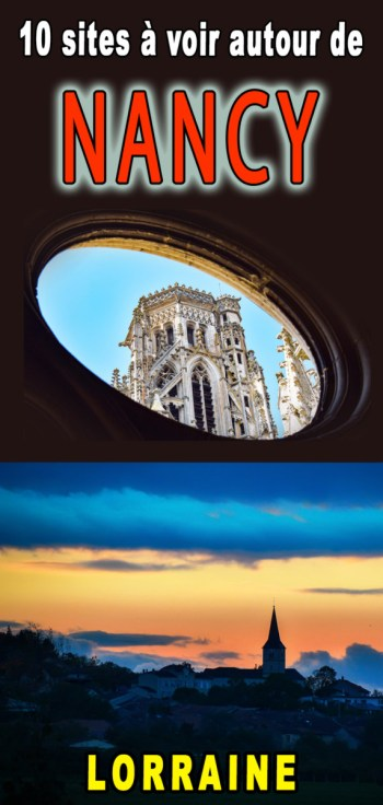 Autour de Nancy Pinterest © French Moments